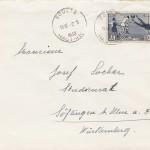 Beleg 5 Brief WM 1938 EF